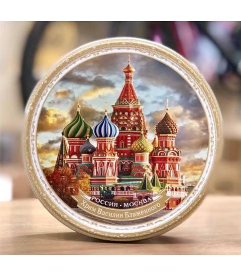 Bánh quy hộp sắt Vintage Nga 400g