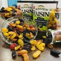 Nho Khô Mỹ Không Hạt Sunview Raisins 425g
