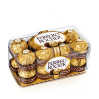Socola 16 viên vàng Ferrero Rocher Đức - 200g