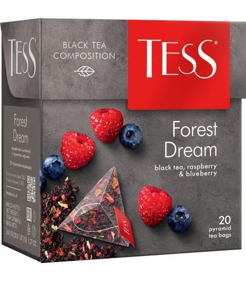 Trà đen TESS Nga 20 túi lọc kim tự tháp