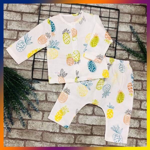Quần áo trẻ em TÍT MÍT BABYXO bộ ngắn size S