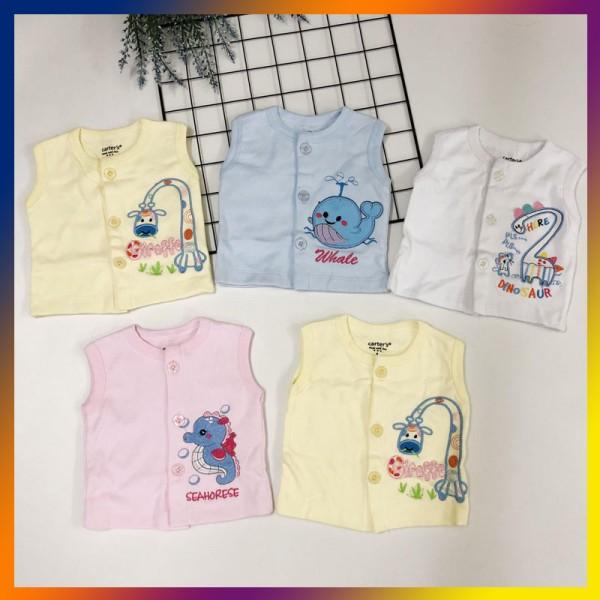 Set 4 áo Gile cotton size S