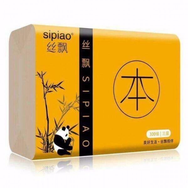Combo 10 gói giấy ăn gấu trúc Sipiao
