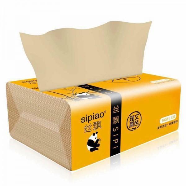 Giấy ăn gấu trúc Sipiao - gói 300 tờ
