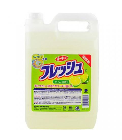 Nước rửa bát WAI 4 lít hương chanh