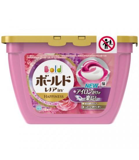 Hộp 18 viên giặt Gelball 3D màu hồng