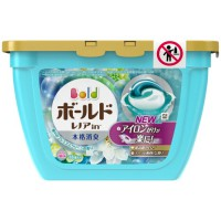 Hộp 18 viên giặt Gelball 3D màu xanh