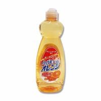 Nước rửa chén diệt khuẩn tinh chất cam Mitsuei 600ml
