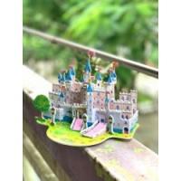 Bộ ghép hình 3D mẫu lâu đài