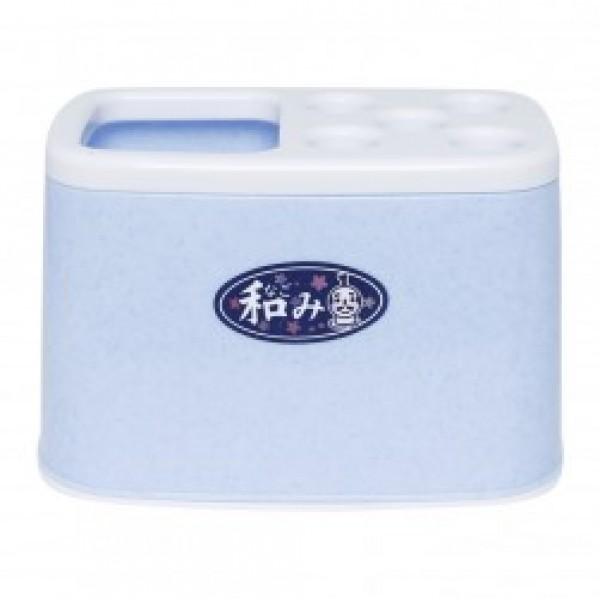Giá cắm bàn chải kem đánh răng (Màu xanh)