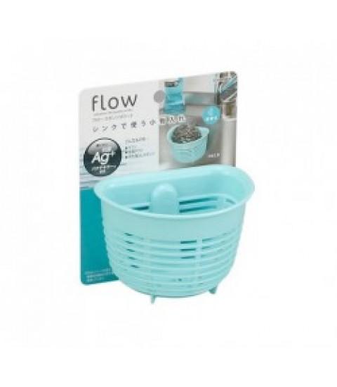 Giá để giẻ rửa bát hình rổ màu xanh