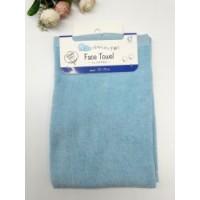 Khăn tắm mềm mịn 100% cotton (màu xanh)