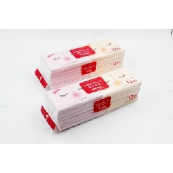 Set 12 khăn giấy bỏ túi siêu mềm mịn