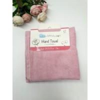 Set 2 khăn mặt mềm mịn cho bé 100% cotton (màu hồng)