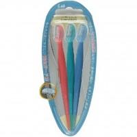 Set 3 dao cạo lông mày  cán dài KAI