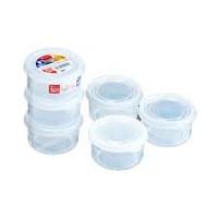 Set 3 hộp nhựa tròn 180ml
