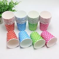 Set 30 cốc giấy chấm bi dung tích 100ml