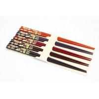 Set 5 đôi đũa mẫu lá phong (Made in Japan)