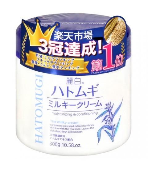 (KCK) Kem dưỡng ẩm và làm sáng da Hatomugi Moisturizing Conditioning Gel 300gr