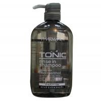 Dầu gội xả trị gàu cho nam Tonic Pharmaact 600ml