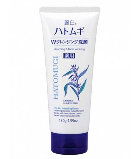 Sữa rửa mặt sáng da Hatomugi 130g