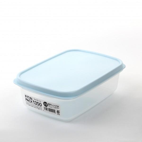Hộp nhựa nắp dẻo 1350ml (màu xanh Mint)