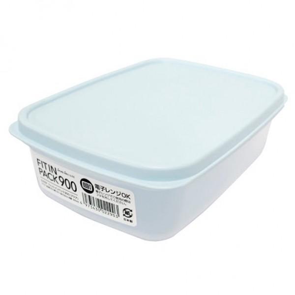 Hộp nhựa nắp dẻo 900ml (màu xanh Mint)
