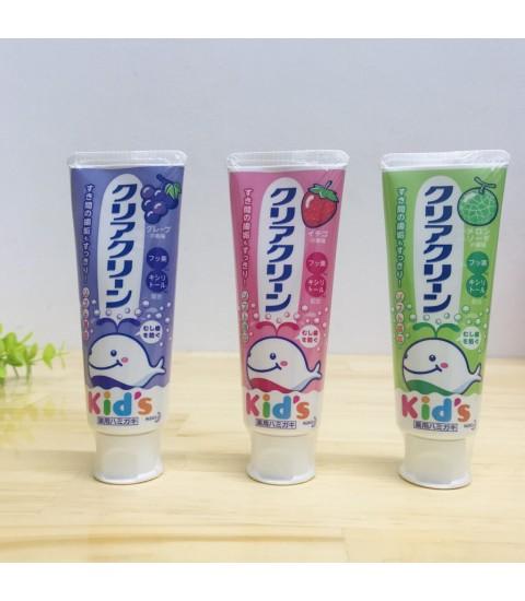 Kem đánh răng cho trẻ em Kao 70g (lẫn vị)