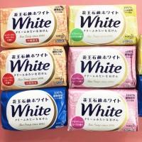 Set 12 bánh xà phòng tắm trắng KAO 130g