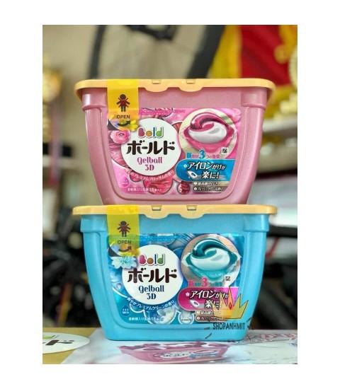 Viên giặt xả Gell Ball 3D Nhật Bản (mẫu mới)