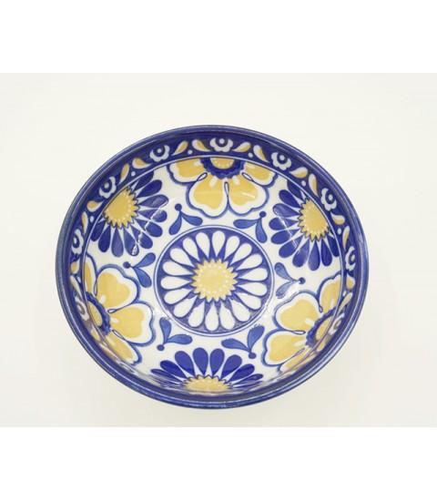Bát ceramic mẫu họa tiết bóng hoa