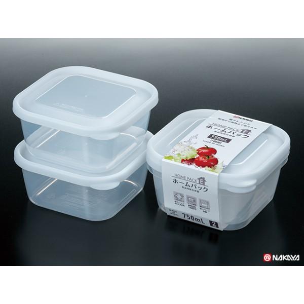 Set 2 hộp nhựa 650ml