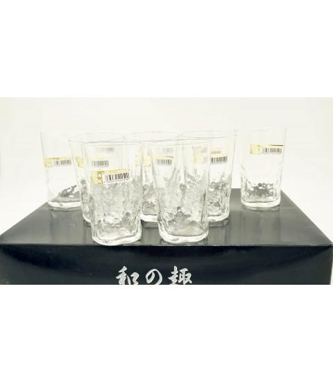 Bộ 10 cốc thủy tinh 285ml dáng cao