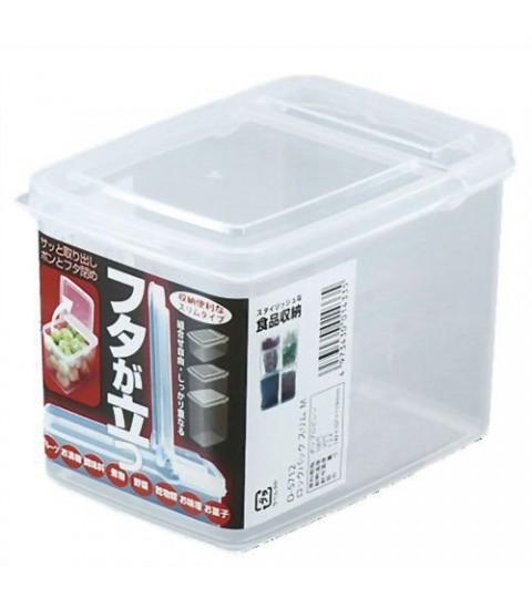 Hộp nhựa đựng thực phẩm 1,2L nắp mở đứng
