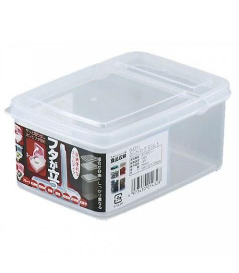 Hộp nhựa đựng thực phẩm 1,1L nắp mở đứng