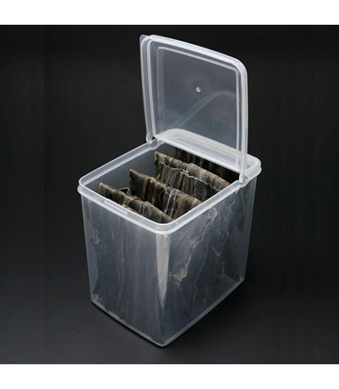 Hộp nhựa đựng thực phẩm 2,6L nắp mở đứng