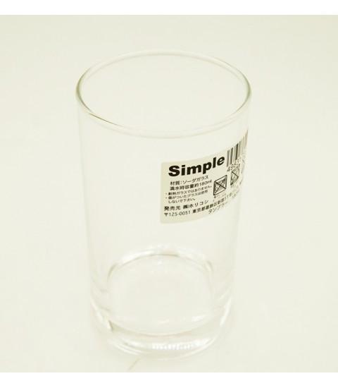 Cốc uống nước thủy tinh 180ml