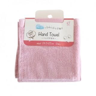 Set 2 khăn mặt mềm mịn cho bé 100% cotton - màu hồng