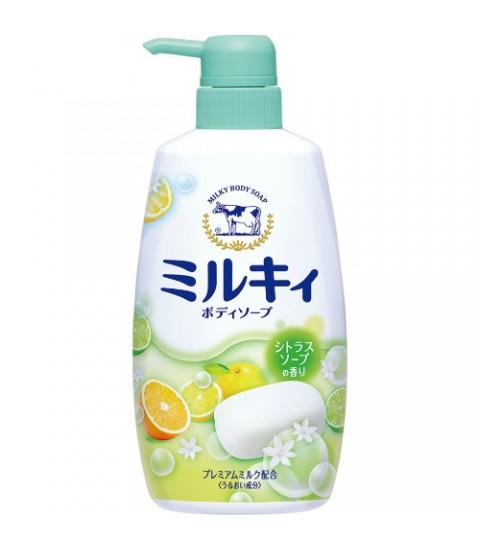 Sữa tắm Milky hương cam chanh 550ml