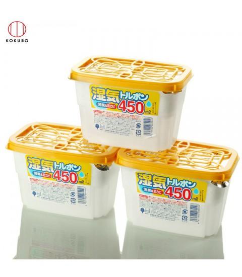 Set 3 hộp hút ẩm 450ml Nhật Bản
