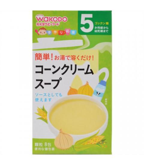 Bột soup bắp sữa Wakado 5m+