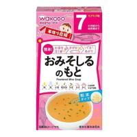 Bột soup vị cá hồi và rau xanh Wakado 7m+