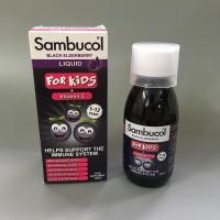 Siro tăng sức đề kháng cho bé từ 1 - 12y Sambucol