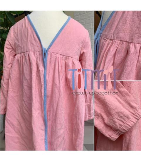Áo KimoKids bé gái - màu hồng