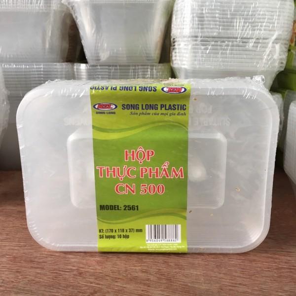 Hộp thực phẩm CN 500 -  2561  nhựa Song Long