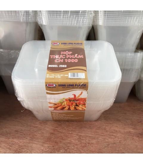 Hộp thực phẩm  CN 1000 - 2563 nhựa Song Long