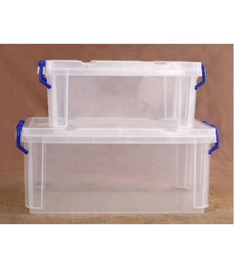 Bộ 2 hộp đựng thực phẩm nhựa có nắp Song Long Plastic