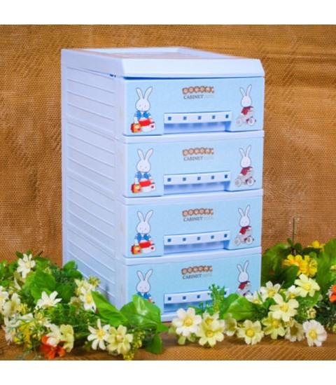 Tủ nhựa Song Long Doremi 4 Tầng SL211038