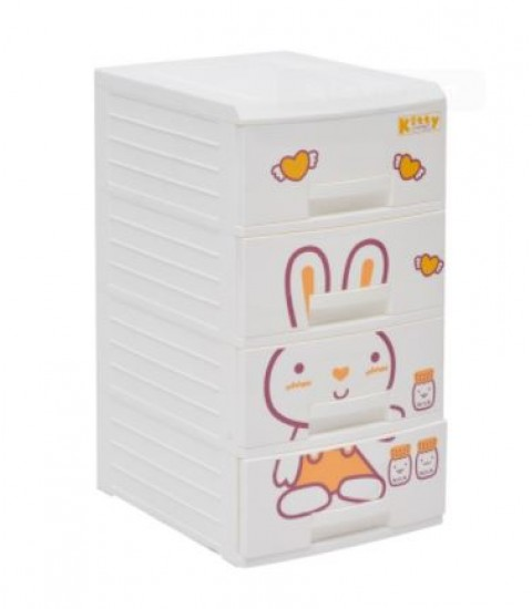 Tủ nhựa Song Long Kitty 4 Tầng SL211036