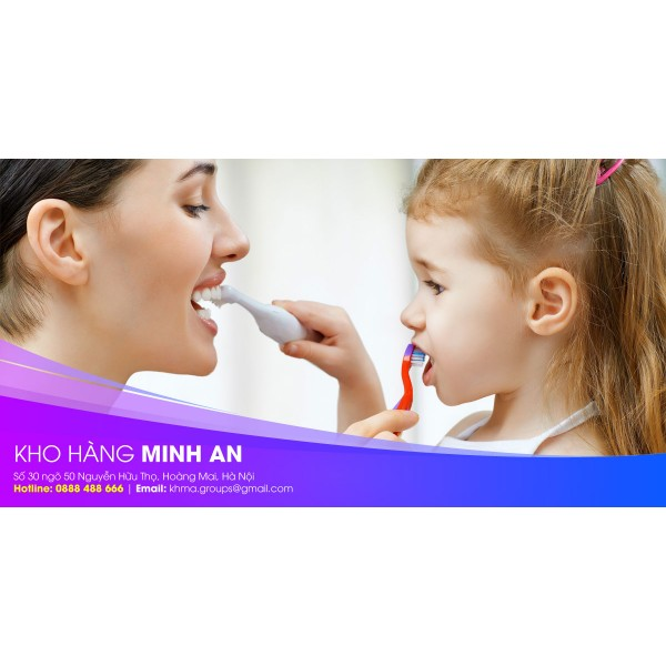 Hướng dẫn sử dụng bàn chải đánh răng KAO trẻ em từ 3 - 8 tuổi